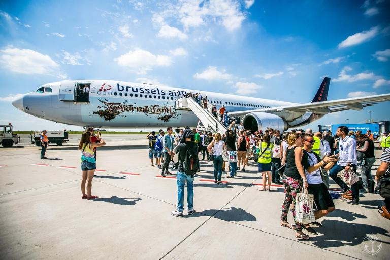 布魯塞爾航空的Tomorrowland包機