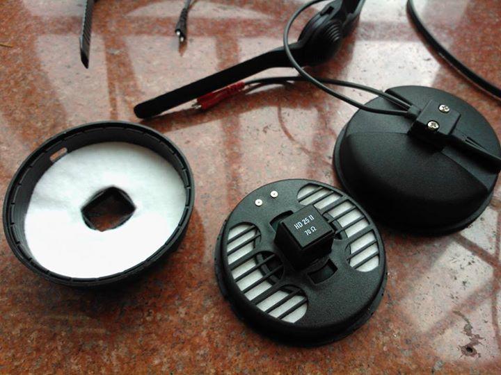 可拆式耳機 HD25
