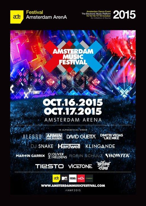 Amsterdam Music Festival 阿姆斯特丹音樂節 2015
