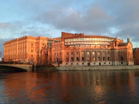 筆者實際走訪斯德哥爾摩騎士島