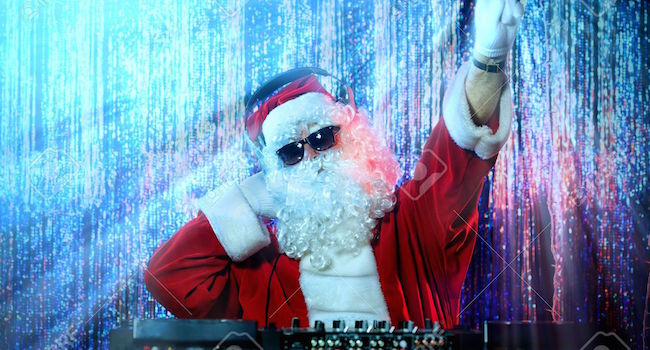 16105580-DJ-Santa-Claus-mixing-up-some-Christmas-cheer-Disco-lights-in-the-background--Stock-Photo
