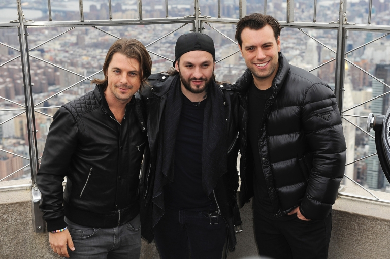 Swedish House Mafia Lights The Empire State Building In Honor Of Their Black Tie Rave Charity Event