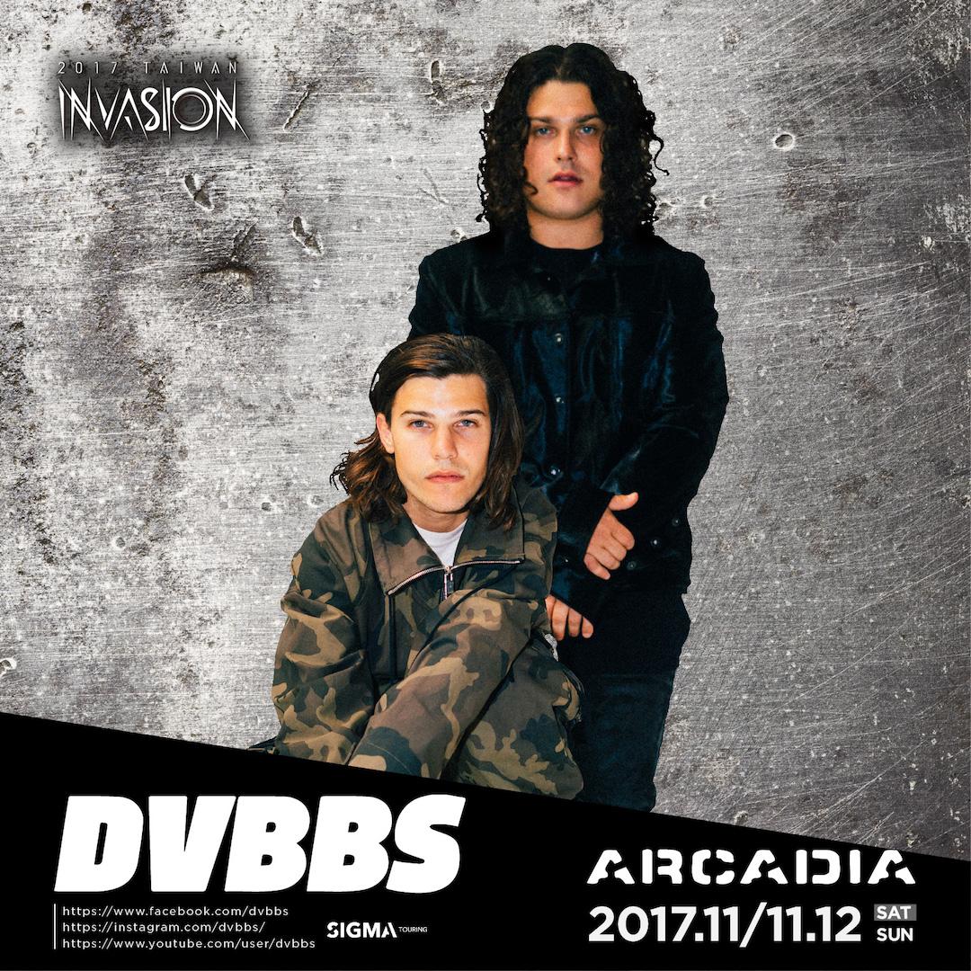 2017Arcadia 藝人 DJ-DVBBS