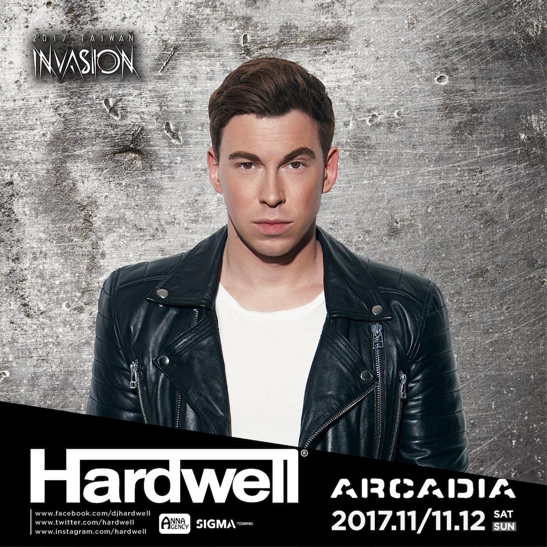 2017Arcadia 藝人 DJ-Hardwell
