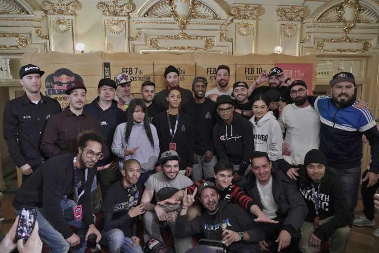 6. 2018 3tyle 世界DJ大賽,所有參賽DJ合照