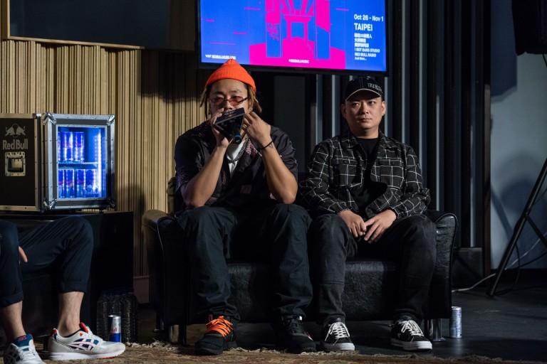 Red Bull嘻哈音樂學院記者會分享 (左Tipsy右DJ Afro).jpg