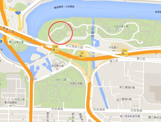 場地介紹 大佳河濱公園