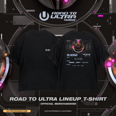 ROAD TO ULTRA LINEUP T-SHIRT